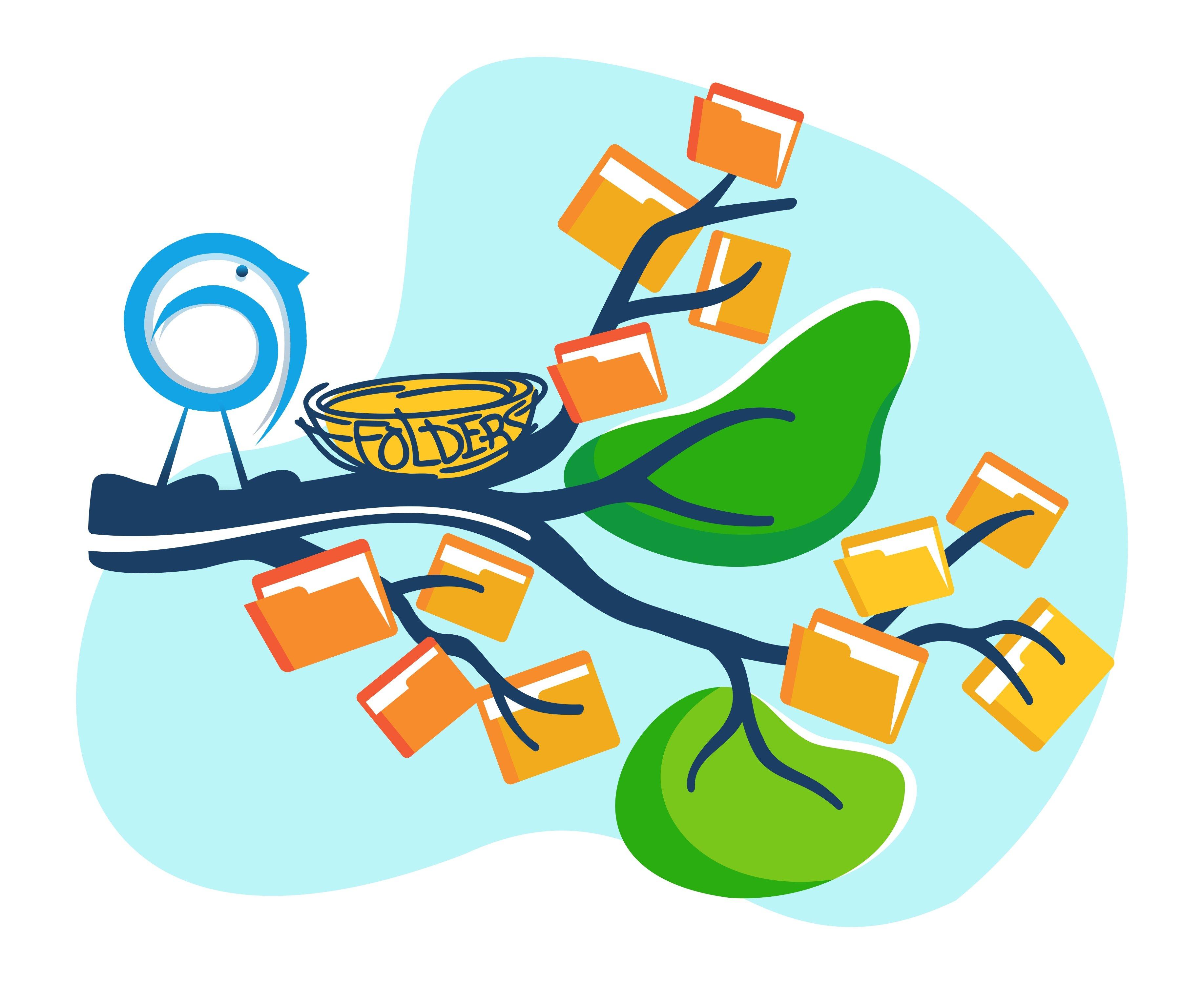 ScribFolders Illustration