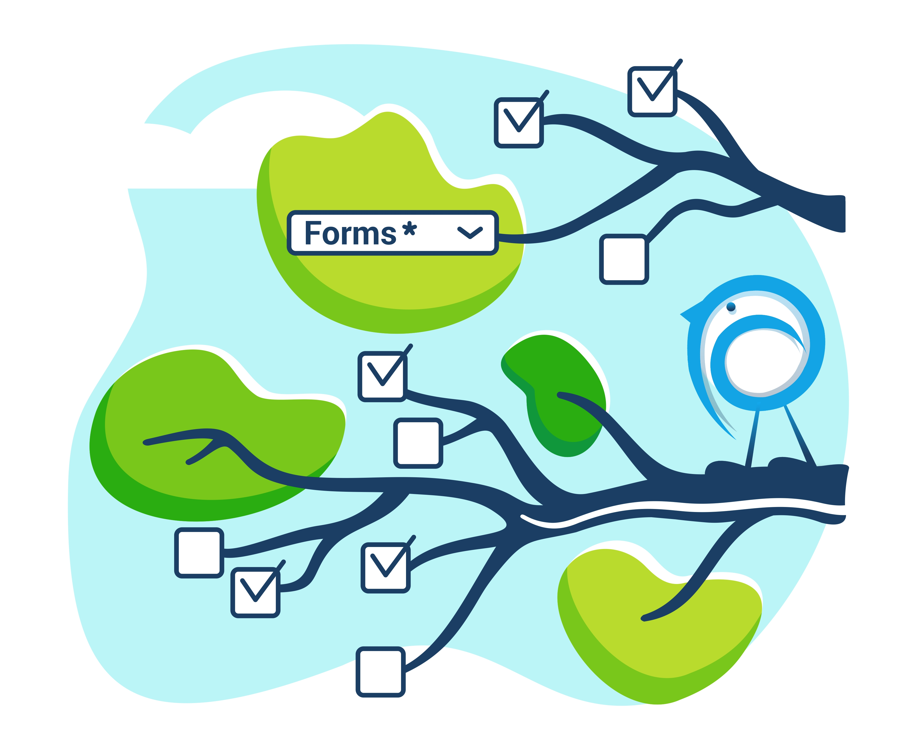 ScribForms Illustration